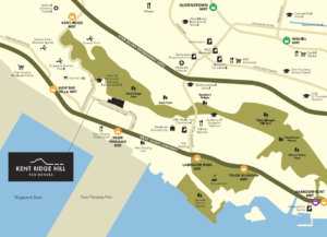 kent-ridge-hill-residences-location-map-singapore