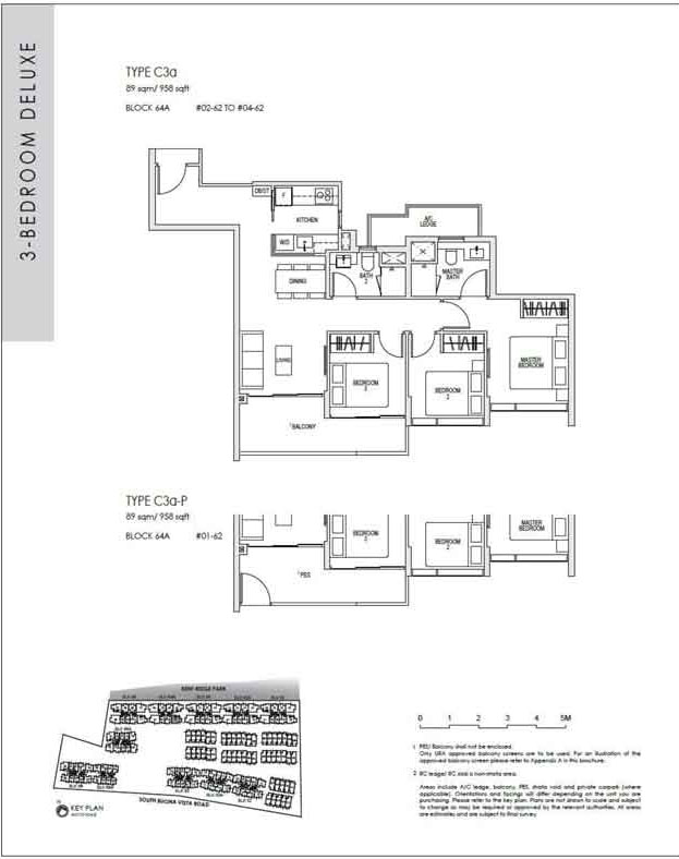 kentridgehillresidences-floor-plan-3-bedroom-deluxe-c3a-958sqft