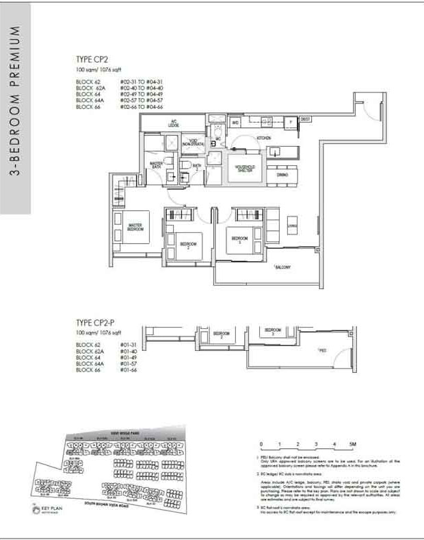 kentridgehillresidences-floor-plan-3-bedroom-premium-cp2-1076sqft