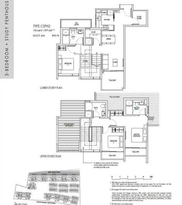 kentridgehillresidences-floor-plan-3study-penthouse-csph2-1399sqft