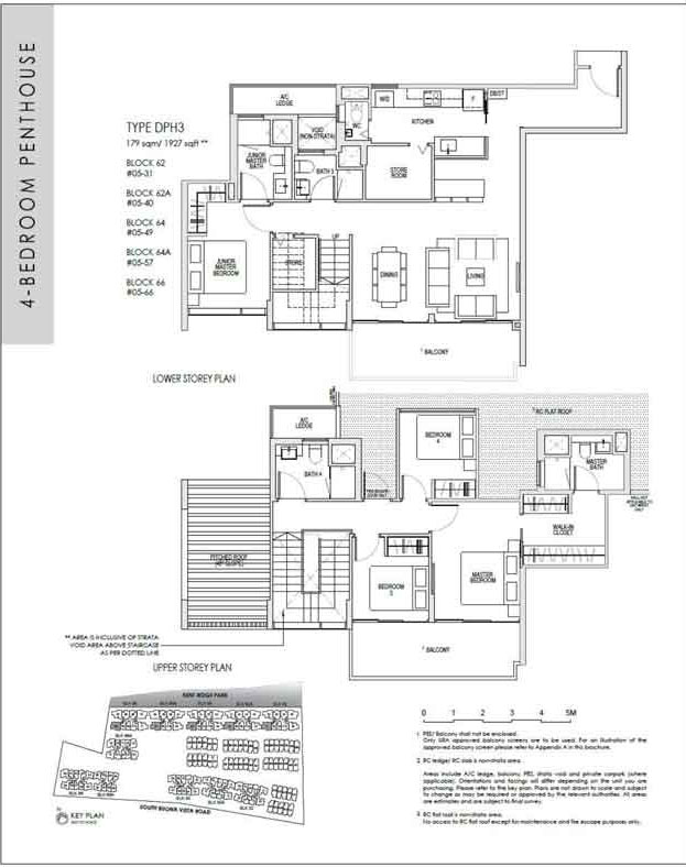 kentridgehillresidences-floor-plan-4-bedroom-penthouse-dph3-1927sqft