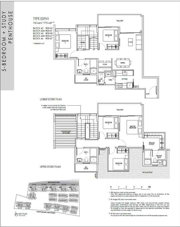kentridgehillresidences-floor-plan-5study-penthouse-esph1-1776sqft
