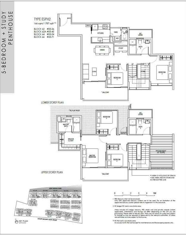 kentridgehillresidences-floor-plan-5study-penthouse-esph2-1787sqft